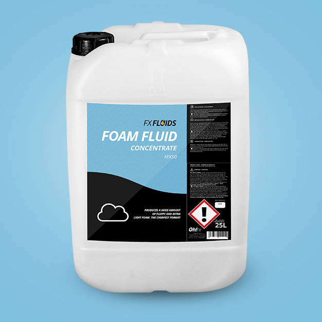 FOAM FLUID CONCENTRATE FFX50 - EXTRA LIGHT FOAM